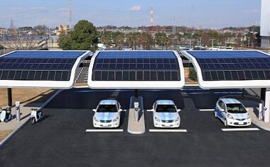 solar carports how it works