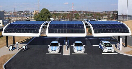 solar carports how it works