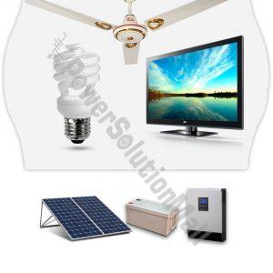 0.85KVA/12V inverter With 2 Solar 200 Watt Solar Panel + 1 X 200AH battery